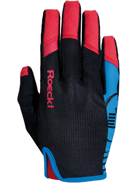 Roeckl Mango Handschuhe schwarz/blau
